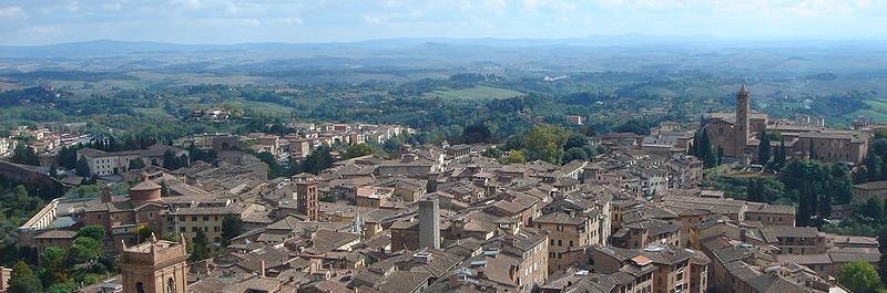 Panorama Sieny
